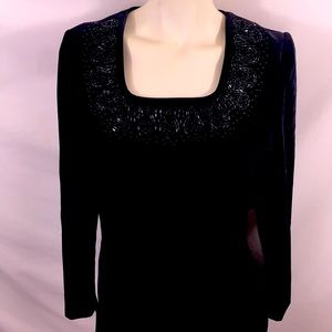 Laura Ashley velvet dress, size 8, EUC